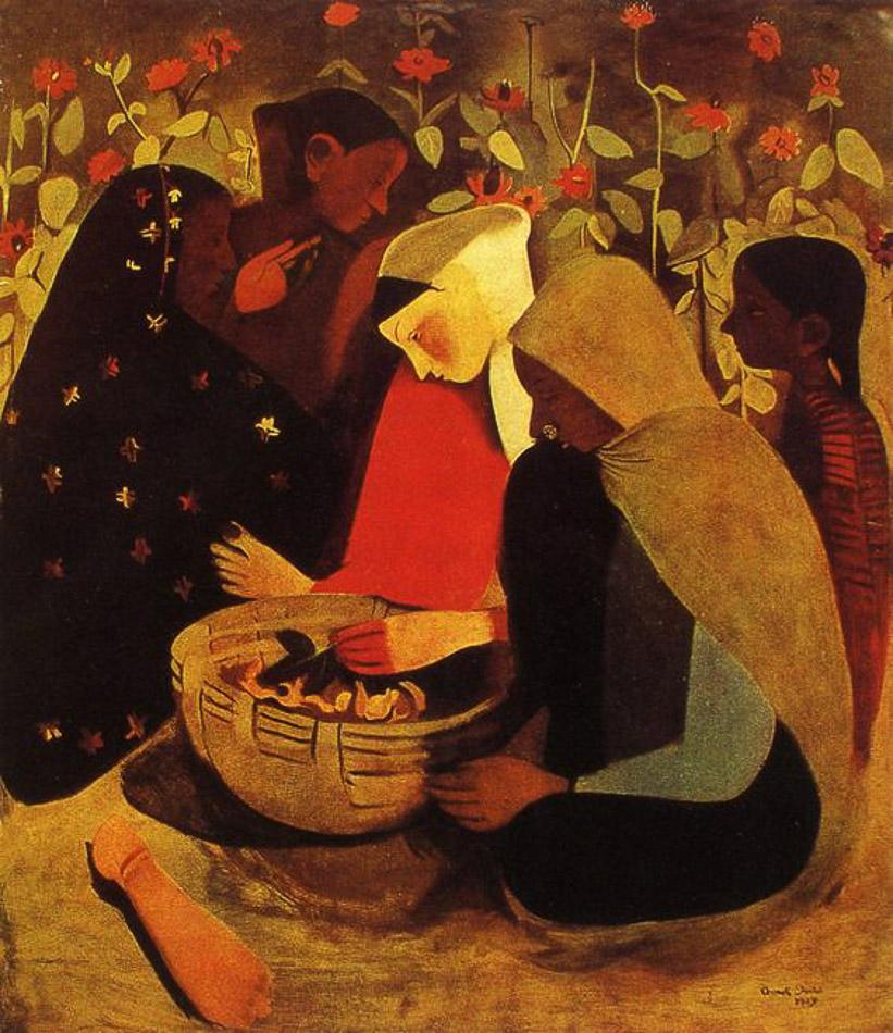 Amrita Sher-Gil (India), Resting, 1939