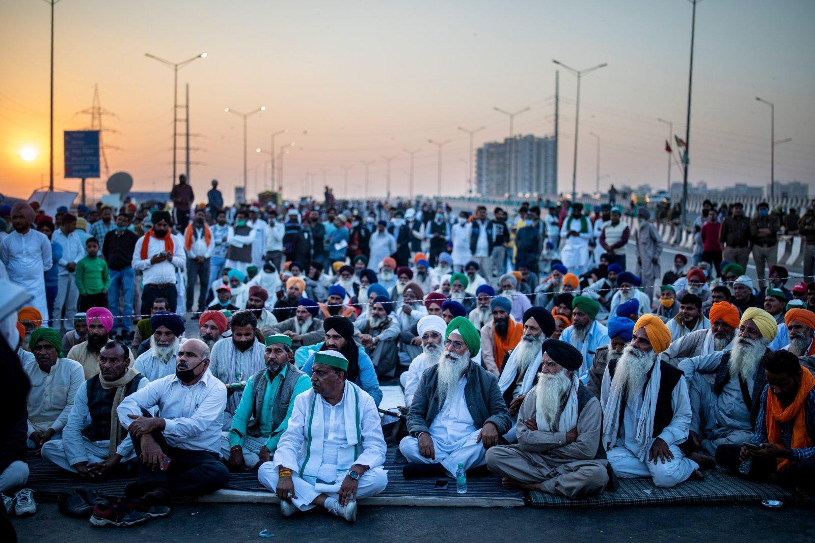 农民抗议为莫迪政府构成最大的挑战