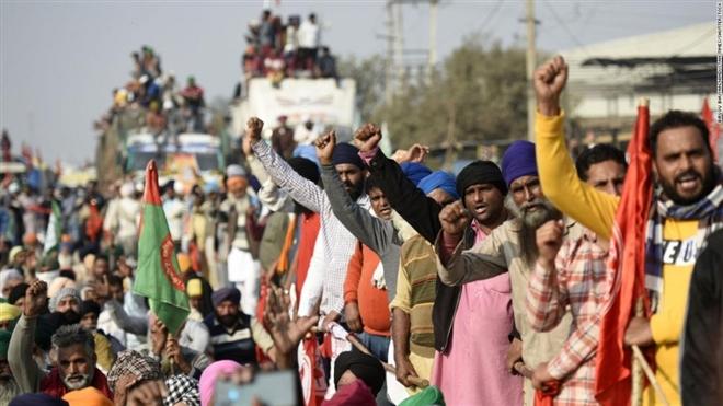 10.000 nông dân Ấn Độ tới thủ đô biểu tình - 1