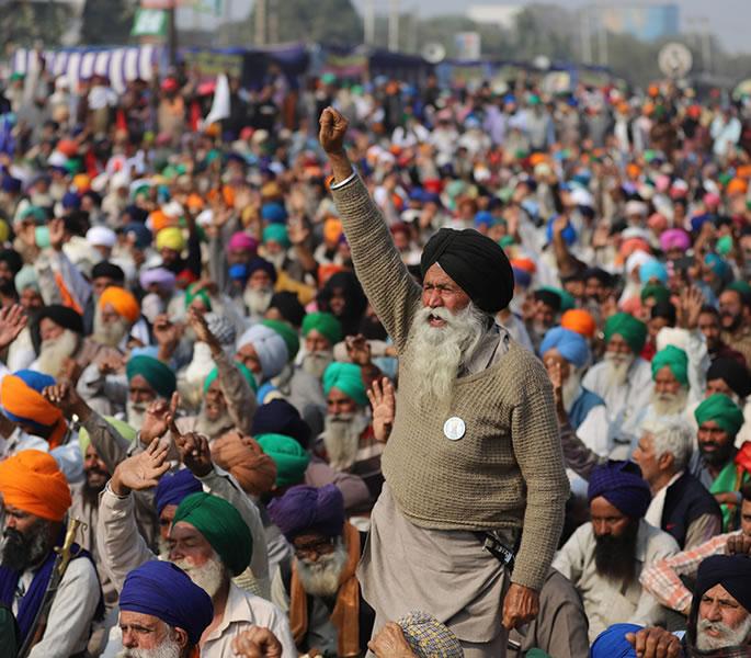 Perché la protesta degli agricoltori indiani è una crisi umanitaria - protesta