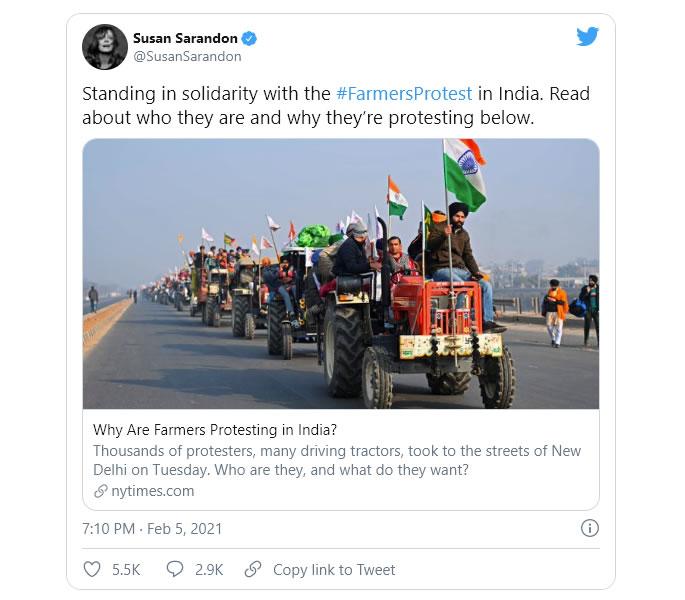 Perché la protesta degli agricoltori indiani è una crisi umanitaria - susan