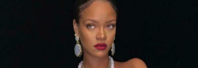 La pop star Rihanna