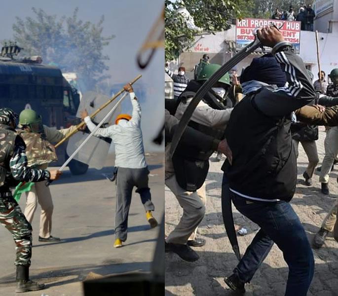 Perché la protesta degli agricoltori indiani è una crisi umanitaria: la violenza