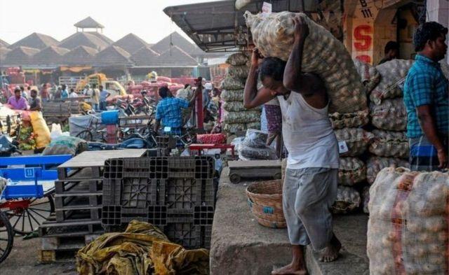 Mercado en India