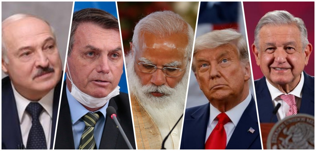 The World's Five Worst Pandemic Leaders