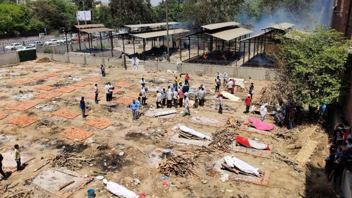 Seemapuri crematorium in Delhi expanded amid a surge in Covid-19 deaths   Reeti Agarwal   ThePrint